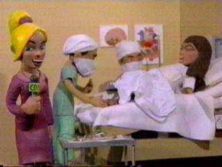 Celebrity Deathmatch / Hanson Vs The Spice Girls.
